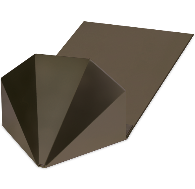 Half Carat Metal with Plate - Sno Gem